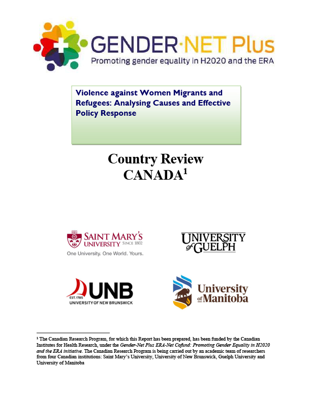 Country Report CANADA