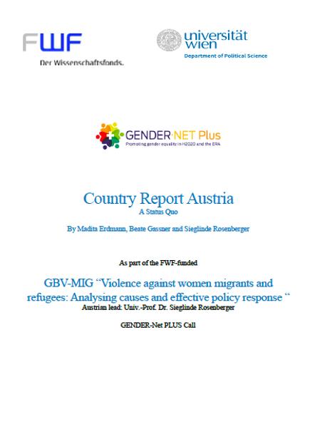 Country Report AUSTRIA